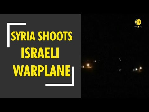 Syria Shoots Down Israeli Warplane