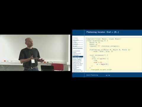 Guntram Berti. Generic programming
