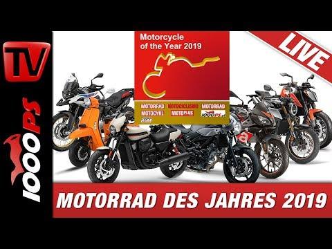 Motorrad des Jahres 2019 in Österreich auf Messebühne bike Austria Tulln