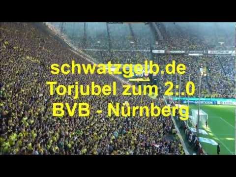 BVB - Nürnberg 2-0 Torjubel zum 2-0 Borussia Dortmund vs 1.FC Nürnberg