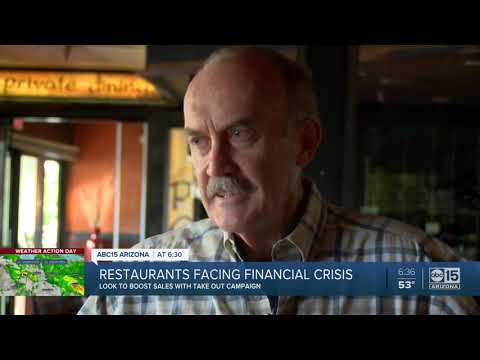 Arizona restaurants facing financial crisis amid coronavirus outbreak