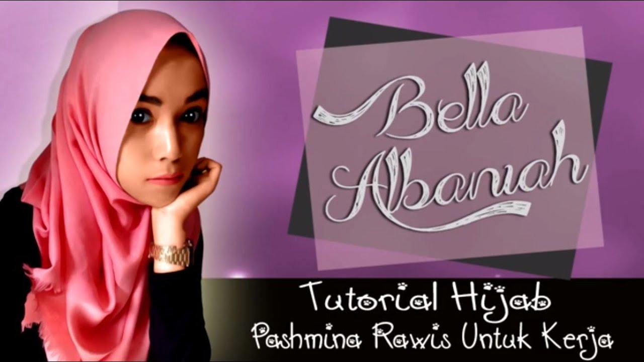 Tutorial Hijab Pashmina Rawis Untuk Kerja Terbaru 2016 YouTube
