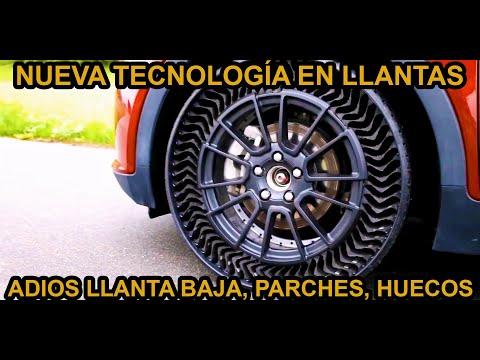 Llanta SIN AIRE Antipinchazo El futuro es HOY