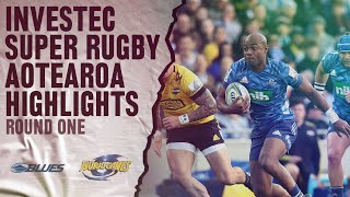 ROUND 1: Blues v Hurricanes (Investec Super Rugby Aotearoa)