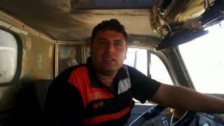 قناة السويس الجديدة مصر:سائق سيارة بالحفر: فخوربالعمل  بأعظم مشروع فى العالم