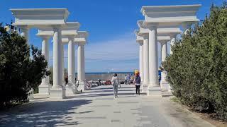 Севастополь Майские праздники прогулка по парку победы