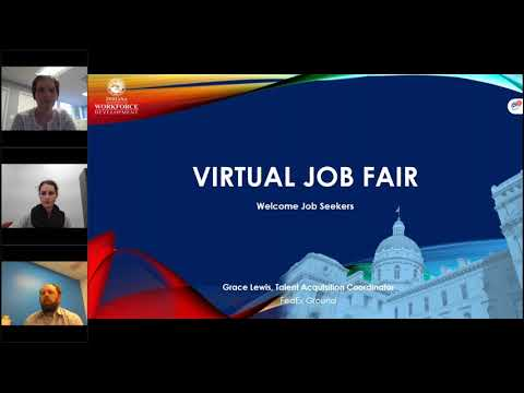 Virtual Job Fair: Johnson County 10-13-20