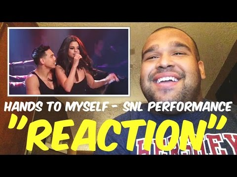 Selena Gomez - Hands To Myself (Live From SNL) REACTION