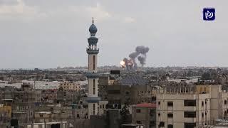 طائرات الاحتلال تشن غارات على مواقع في قطاع غزة - (24/2/2020)