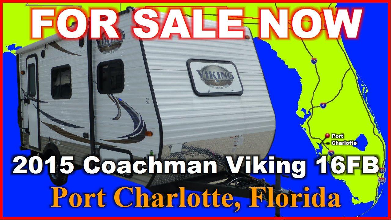 2015 Forest River Coachmen Viking 16FB New Travel Trailer, Florida, Pt  Charlotte, Ft Myers, Sarasota