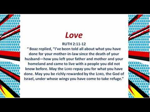 Michelle Green Ford:  Sermon on Ruth