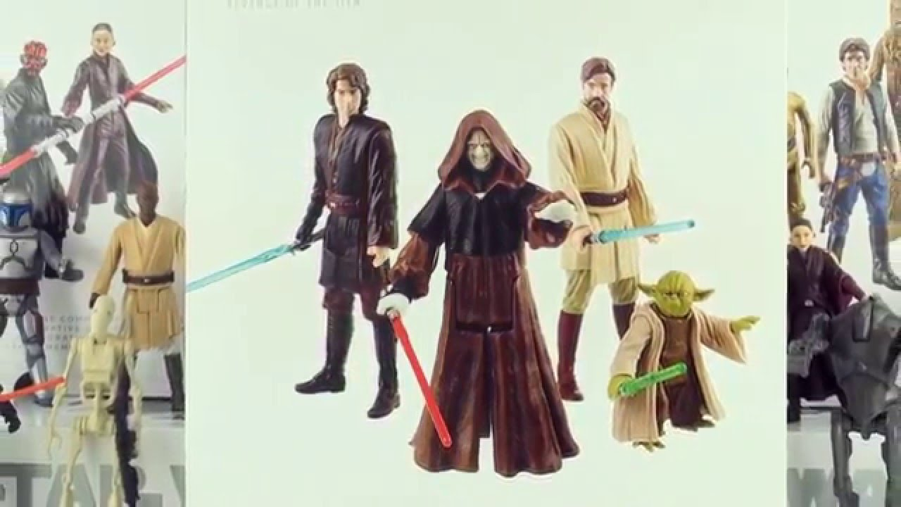 Star Wars Episode 3 Revenge Of The Sith Limited Edition Action Toys Star Wars Collection Youtube