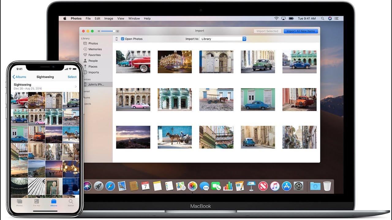 как хранить фотографии на макбуке предпочитают
