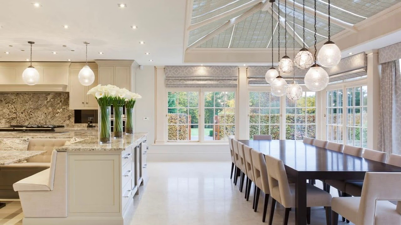 Kitchen in Conservatory Extension Ideas YouTube