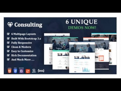 Consulting Finance Business Joomla Template - Consulting Pro | Themeforest Templates