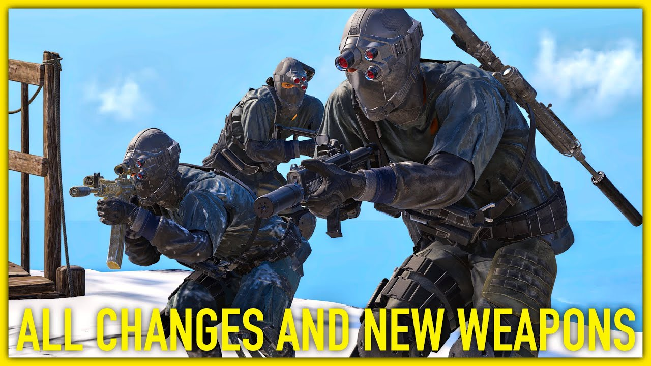 Ghost Recon Breakpoint AI TEAMMATES, NEW WEAPONS CLOTHES & MORE (Breakpoint Technical Update 2.1.0) thumbnail