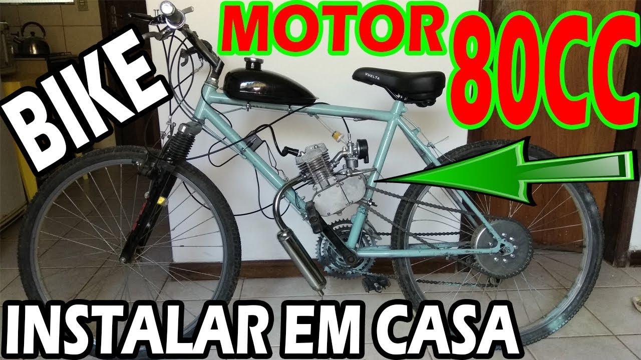 Como Instalar Motor Na Bicicleta Modo Facil Youtube