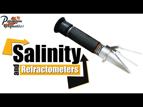 Salinity | How to Use and Calibrate a Refractometer