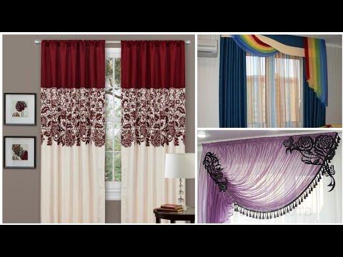 كتالوج ستائر 2019 علي مواسير أقل سعر بأعلى فيو لمحبي الاختلاف والتميز تشكيله Modern Curtainsلايفوتكم