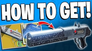 Destiny 2 Forsaken - How To Get Chaperone Exotic / Exotic Quest - Full Guide!