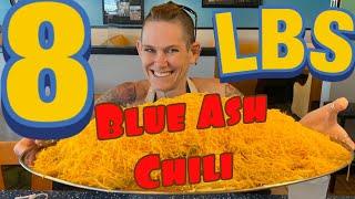 "BLUE ASH ""No freakin way"" 8 LB CHALLENGE | WOMAN VS FOOD"