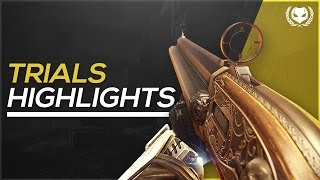 Destiny: Mowing People Down with 4th Horseman - Trials of Osiris Flawless Highlights/Moments!