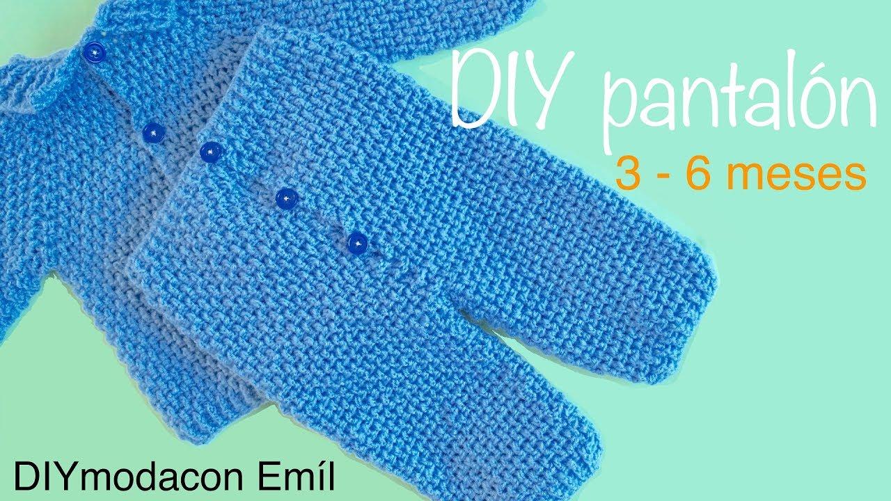 Pantalón de bebé a crochet parte de conjunto paso a paso - YouTube 548794be80cf