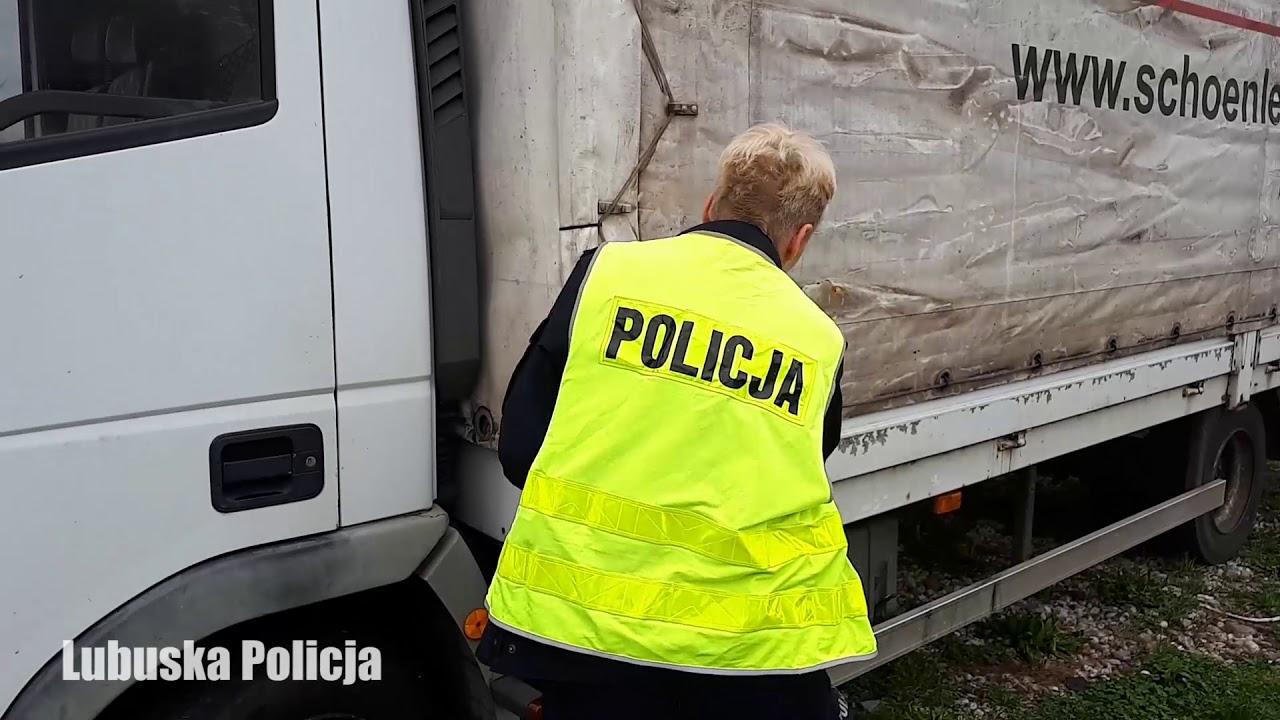 Koparka i ciężarówka wrócą do właściciela. Policja odzyskała skradzione pojazdy