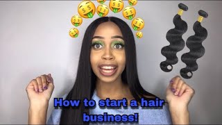 STARTING A HAIR BUSINESS WITH NO MONEY | How I went from $0 to 3k | Makeupbypmarie