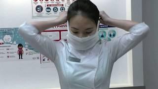 как изготовить марлевую маску
