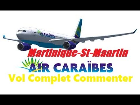 FS2004 Boeing 737-400 Martinique-St_Maartin- Air Caraïbe