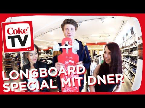 Das CokeTV Longboard mit Dner und Jenny | #CokeTVMoment