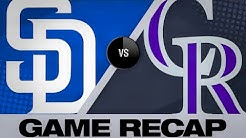 6/13/19: Blackmon's 2-HR game leads Rockies