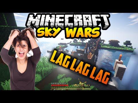 MINECRAFT SKY WARS# LAG LAG Y MAS LGA