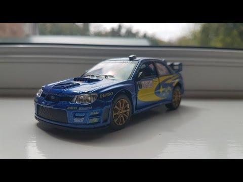 Kinsmart Subaru Wrx 2005 Wrc  1/34 Diecast Review