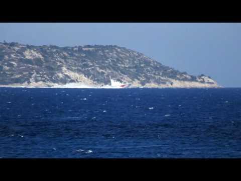 Turkish Coast Guard activity KAAN19 & KAAN33 patrol boats.