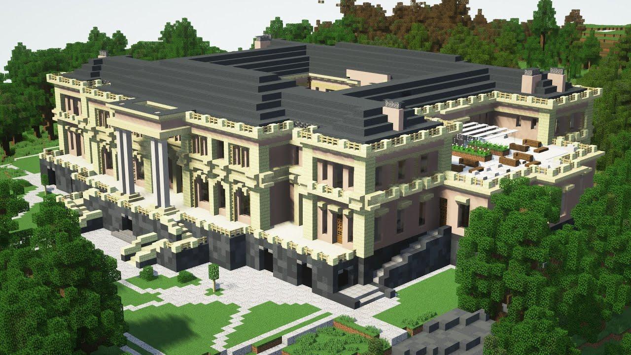 Дворец Путина в Minecraft 1 к 1