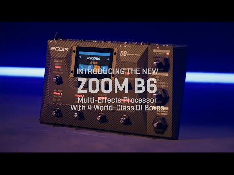 Zoom B6 Introduction Video