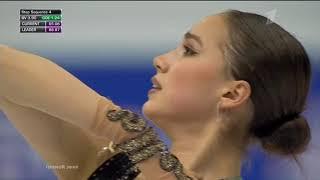 Фигурное катание Финал Гран при 2019 в Турине Женщины Произвольная программа Алины Загитовой