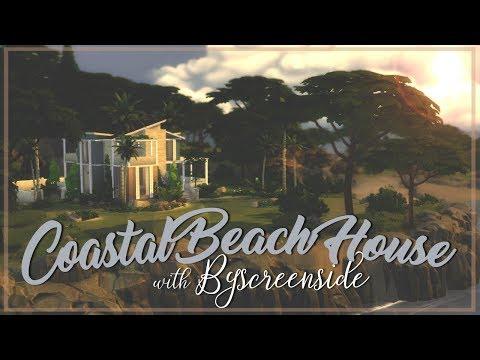 The Sims 4 | Build Collab w/ Byscreenside: Coastal Beach House