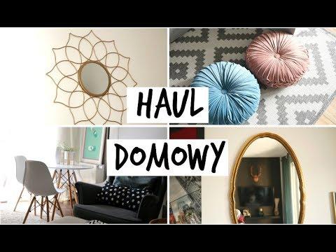 WIELKI HAUL DOMOWY | Homla, Targ staroci, H&M | MarKa