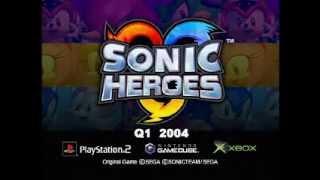 Sonic Heroes trailer 2003
