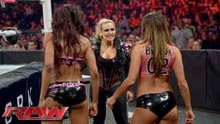 Charlotte & Becky Lynch vs. Brie Bella & Alicia Fox: Raw, October 12, 2015