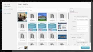 Uploading Content Into Your WordPress Website
