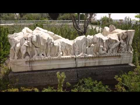 Antiquities At The Israel Museum/Shrine Of The Book (clip)