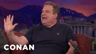 Jeff Garlin's Krispy Kreme Habit  - CONAN on TBS