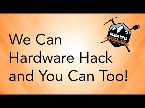 We can hardware hack! And you can too!