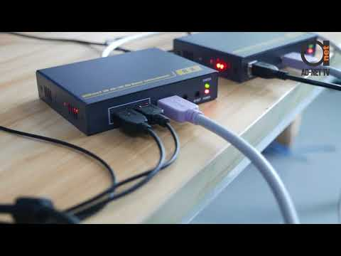 HDMI KVM Over UTP Copper Extender Set