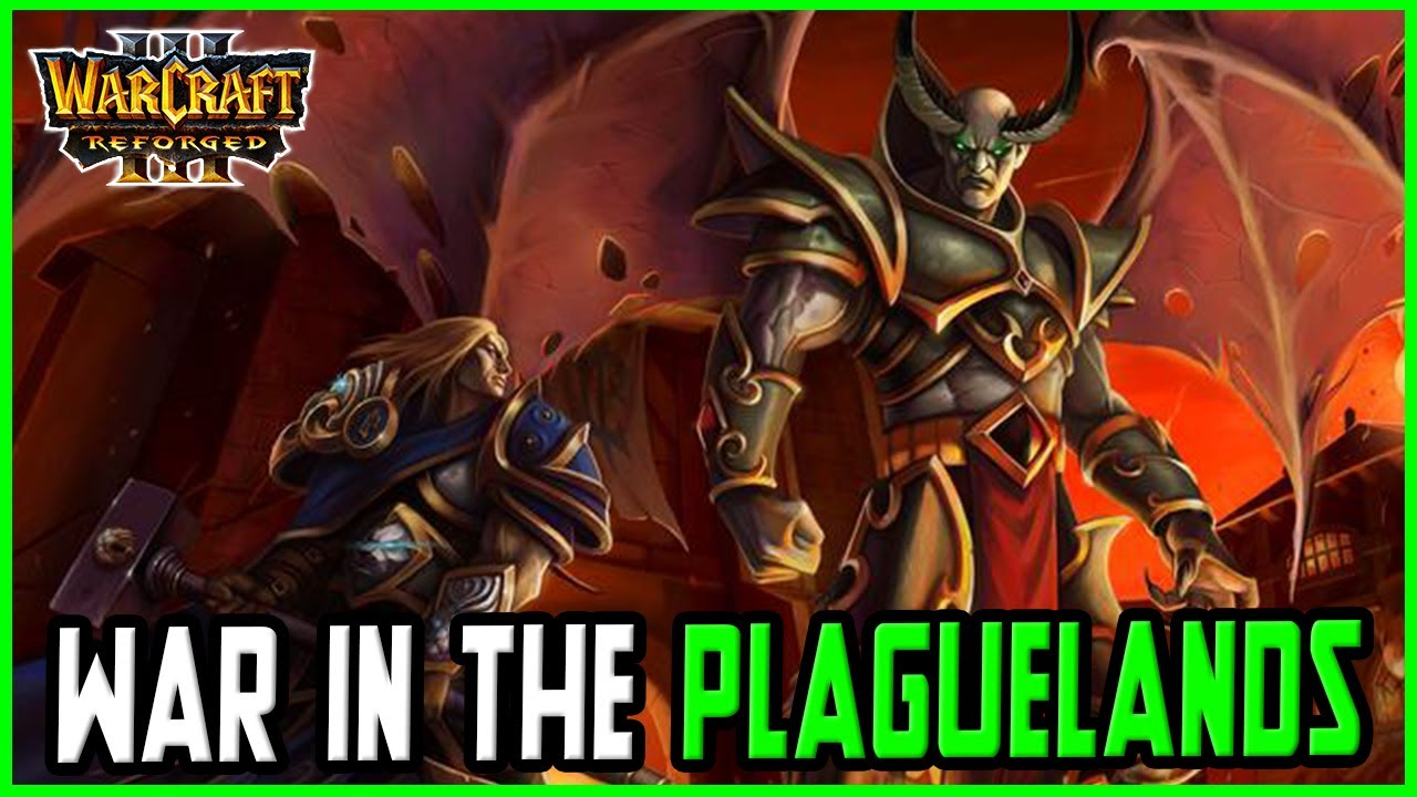 War in the Plaguelands Reborn: Stratholme Scourge | Warcraft 3 Reforged