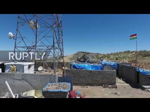 Iraq: Drone captures aftermath of Turkish airstrikes on Kurdish targets